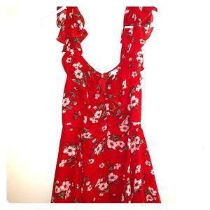 Beautiful Red Day Dress